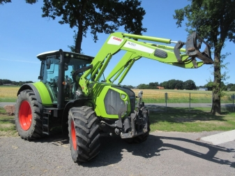ТРАКТОР CLAAS ARION 650 CIS